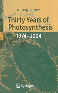 Thirty Years of Photosynthesis (eBook, PDF) - Latzko, Erwin; Kelly, Grahame J.