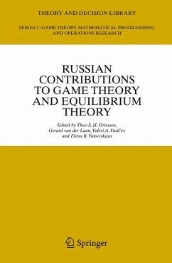 Russian Contributions to Game Theory and Equilibrium Theory (eBook, PDF)