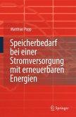 Speicherbedarf bei einer Stromversorgung mit erneuerbaren Energien (eBook, PDF)