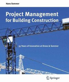 Project Management for Building Construction (eBook, PDF) - Sommer, Hans