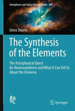 The Synthesis of the Elements (eBook, PDF) - Shaviv, Giora