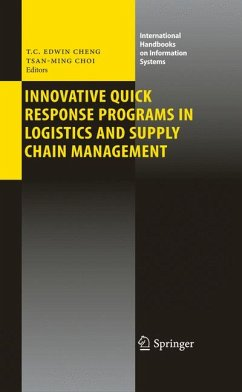 Innovative Quick Response Programs in Logistics and Supply Chain Management (eBook, PDF)