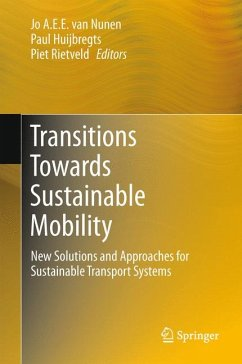 Transitions Towards Sustainable Mobility (eBook, PDF)