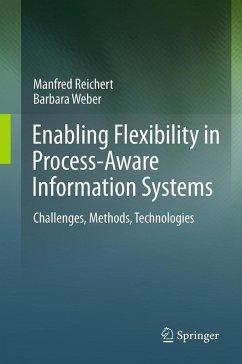 Enabling Flexibility in Process-Aware Information Systems (eBook, PDF) - Reichert, Manfred; Weber, Barbara