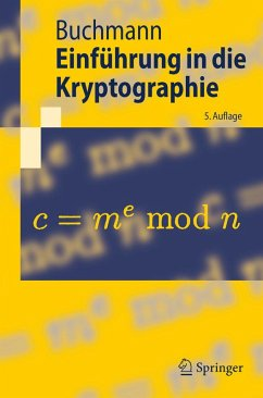 Einführung in die Kryptographie (eBook, PDF) - Buchmann, Johannes
