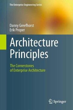 Architecture Principles (eBook, PDF) - Greefhorst, Danny; Proper, Erik
