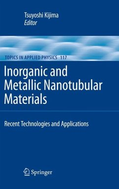 Inorganic and Metallic Nanotubular Materials (eBook, PDF)
