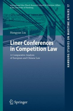 Liner Conferences in Competition Law (eBook, PDF)