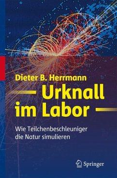 Urknall im Labor (eBook, PDF) - Herrmann, Dieter B.