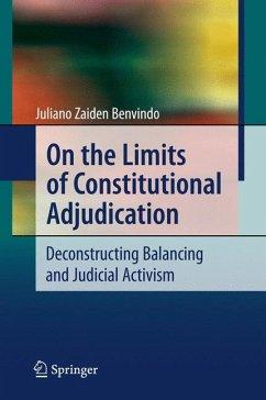On the Limits of Constitutional Adjudication (eBook, PDF) - Benvindo, Juliano Zaiden