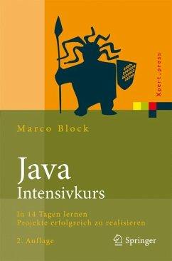 Java-Intensivkurs (eBook, PDF) - Block, Marco