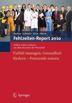 Fehlzeiten-Report 2010 (eBook, PDF)