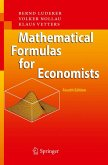 Mathematical Formulas for Economists (eBook, PDF)