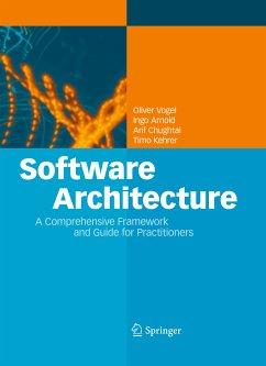 Software Architecture (eBook, PDF) - Vogel, Oliver; Arnold, Ingo; Chughtai, Arif; Kehrer, Timo