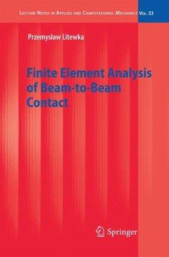 Finite Element Analysis of Beam-to-Beam Contact (eBook, PDF) - Litewka, Przemyslaw