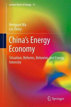 China's Energy Economy (eBook, PDF) - Ma, Hengyun; Oxley, Les