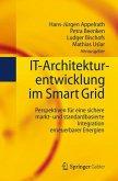 IT-Architekturentwicklung im Smart Grid (eBook, PDF)