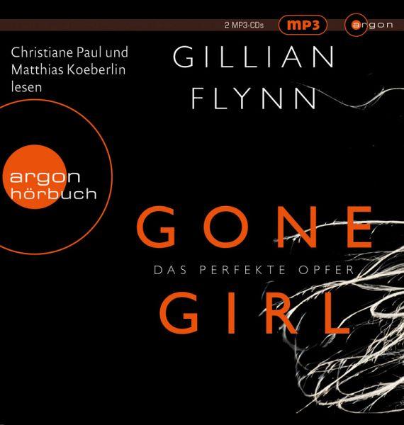 Gone Girl - Das perfekte Opfer, 2 MP3-CDs