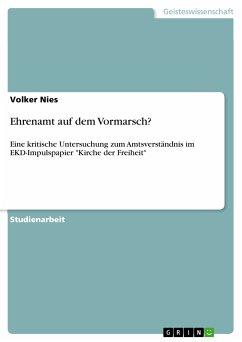 Ehrenamt auf dem Vormarsch? (eBook, PDF)