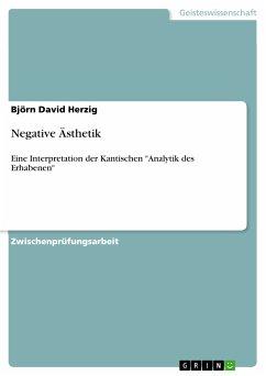 Negative Ästhetik (eBook, PDF)