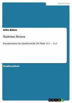 Hadrians Reisen (eBook, ePUB)