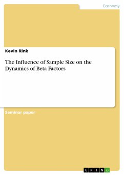 The Influence of Sample Size on the Dynamics of Beta Factors (eBook, PDF)