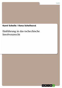 Einführung in das tschechische Insolvenzrecht (eBook, PDF)