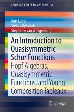 An Introduction to Quasisymmetric Schur Functions - Luoto, Kurt;Mykytiuk, Stefan;Van Willigenburg, Stephanie