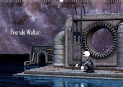 Fremde Welten (Posterbuch DIN A3 quer) - Buch, Norbert