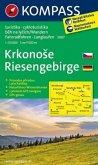 Kompass Karte Riesengebirge, m. Kompass Naturführer Wiesenblumen; Krkonose
