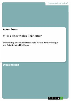 Musik als soziales Phänomen (eBook, PDF)