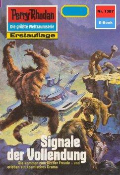 Signale der Vollendung (Heftroman) / Perry Rhodan-Zyklus Tarkan Bd.1387 (eBook, ePUB)