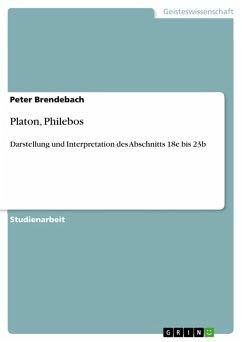 Platon, Philebos (eBook, PDF)