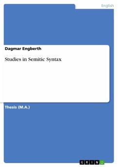 Studies in Semitic Syntax (eBook, PDF)