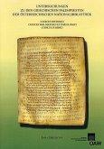 Untersuchungen zu den griechischen Palimpsesten der Österreichischen Nationalbibliothek (eBook, PDF)