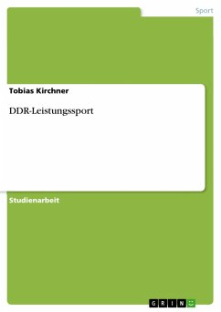 DDR-Leistungssport (eBook, PDF)