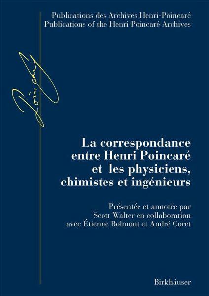 La correspondance entre Henri Poincaré et les physiciens, chimistes et ingénieurs (eBook, PDF)