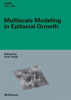 Multiscale Modeling in Epitaxial Growth (eBook, PDF)