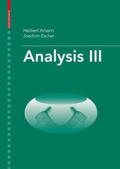 Analysis III (eBook, PDF) - Amann, Herbert; Escher, Joachim