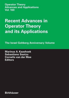 Recent Advances in Operator Theory and its Applications (eBook, PDF)