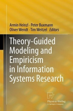 Theory-Guided Modeling and Empiricism in Information Systems Research (eBook, PDF)