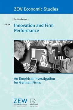 Innovation and Firm Performance (eBook, PDF) - Peters, Bettina