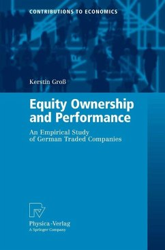 Equity Ownership and Performance (eBook, PDF) - Groß, Kerstin