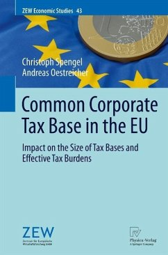 Common Corporate Tax Base in the EU (eBook, PDF) - Spengel, Christoph; Oestreicher, Andreas