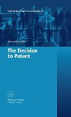 The Decision to Patent (eBook, PDF)