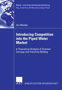 Introducing Competition into the Piped Water Market (eBook, PDF) - Meister, Urs