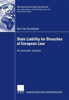 State Liability for Breaches of European Law (eBook, PDF) - Van Roosebeke, Bert