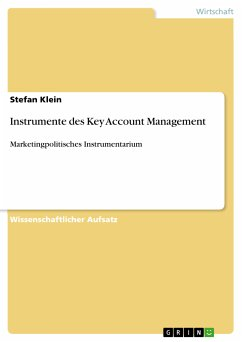 Instrumente des Key Account Management (eBook, PDF)