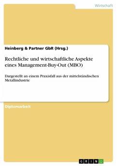 Rechtliche und wirtschaftliche Aspekte eines Management-Buy-Out (MBO) (eBook, PDF)