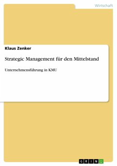 Strategic Management für den Mittelstand